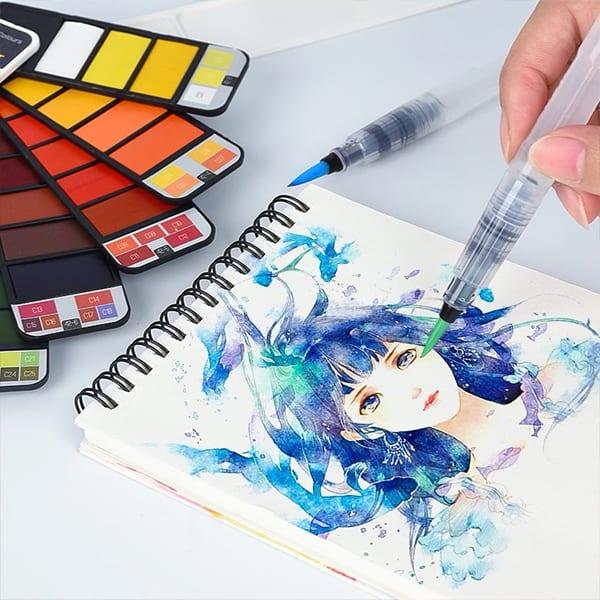 Prenosne vodne barve image