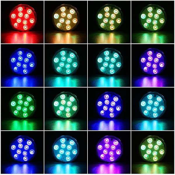 16 barv in 4 načini delovanja image